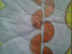 Strijkplankovertrek 140x50cm citrus