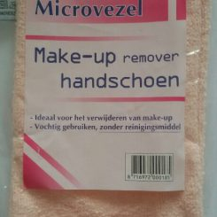 Microvezel make-up reinigingshandschoen
