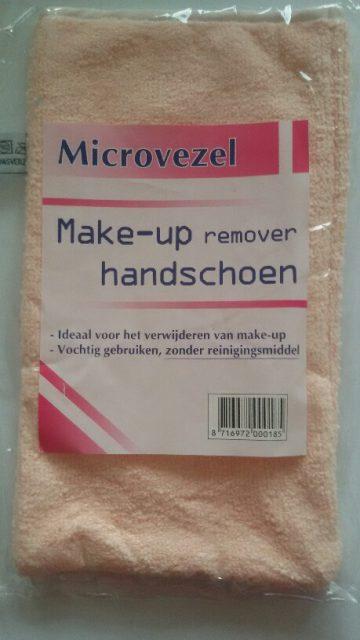 Microvezel make-up reinigingshandschoen