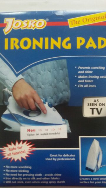 Ironing pad as seen on tv