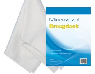 Microvezel droogdoek wit