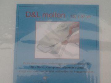 Molton Onderlegger