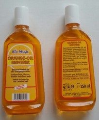 Bio magic orange oil cleaner