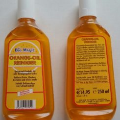 Bio magic orange oil cleaner