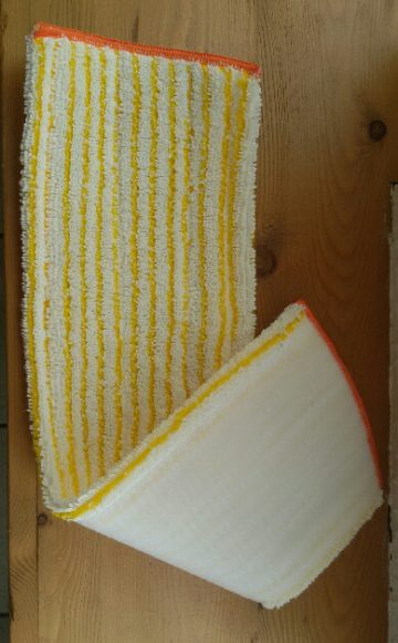 Velcro mop