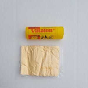 Vinalon zeem in koker gewafeld