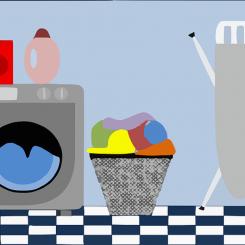 Strijken en wassen